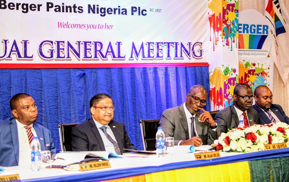 BERGER PAINTS RESTRUCTURES FOR GLOBAL COMPETITIVENESS. …Appoints New CEO