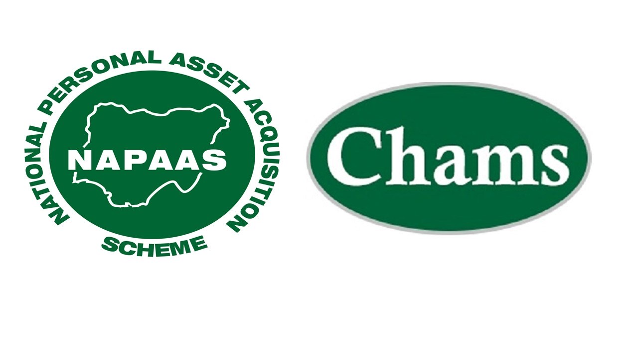 CHAMS EMERGES NAPAAS'    TECHNOLOGY PROVIDER