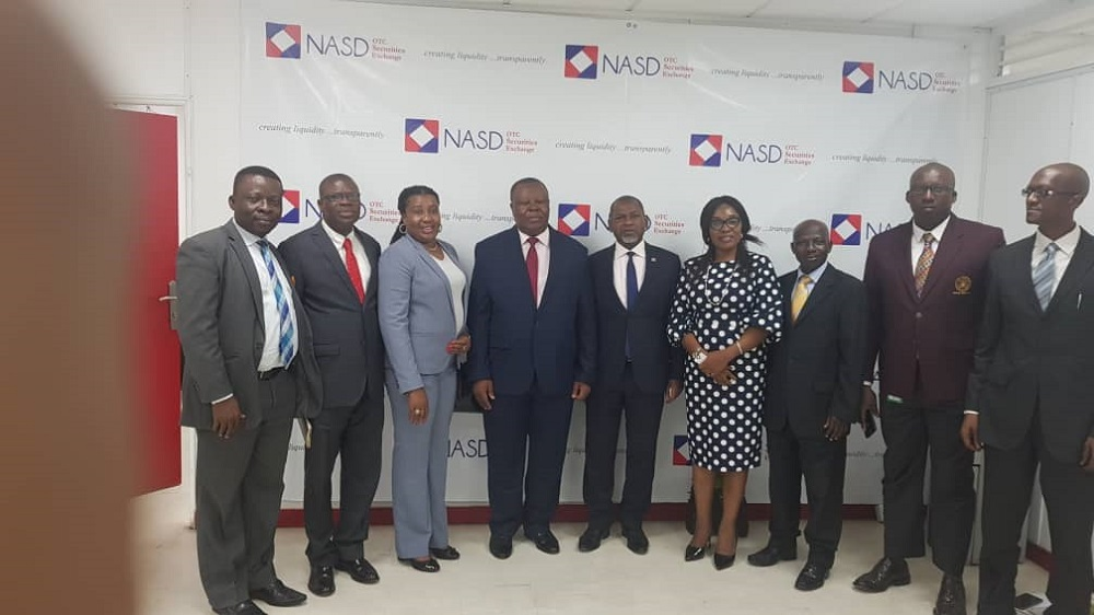 ASHON, NASD IN PARTNERSHIP TALKS