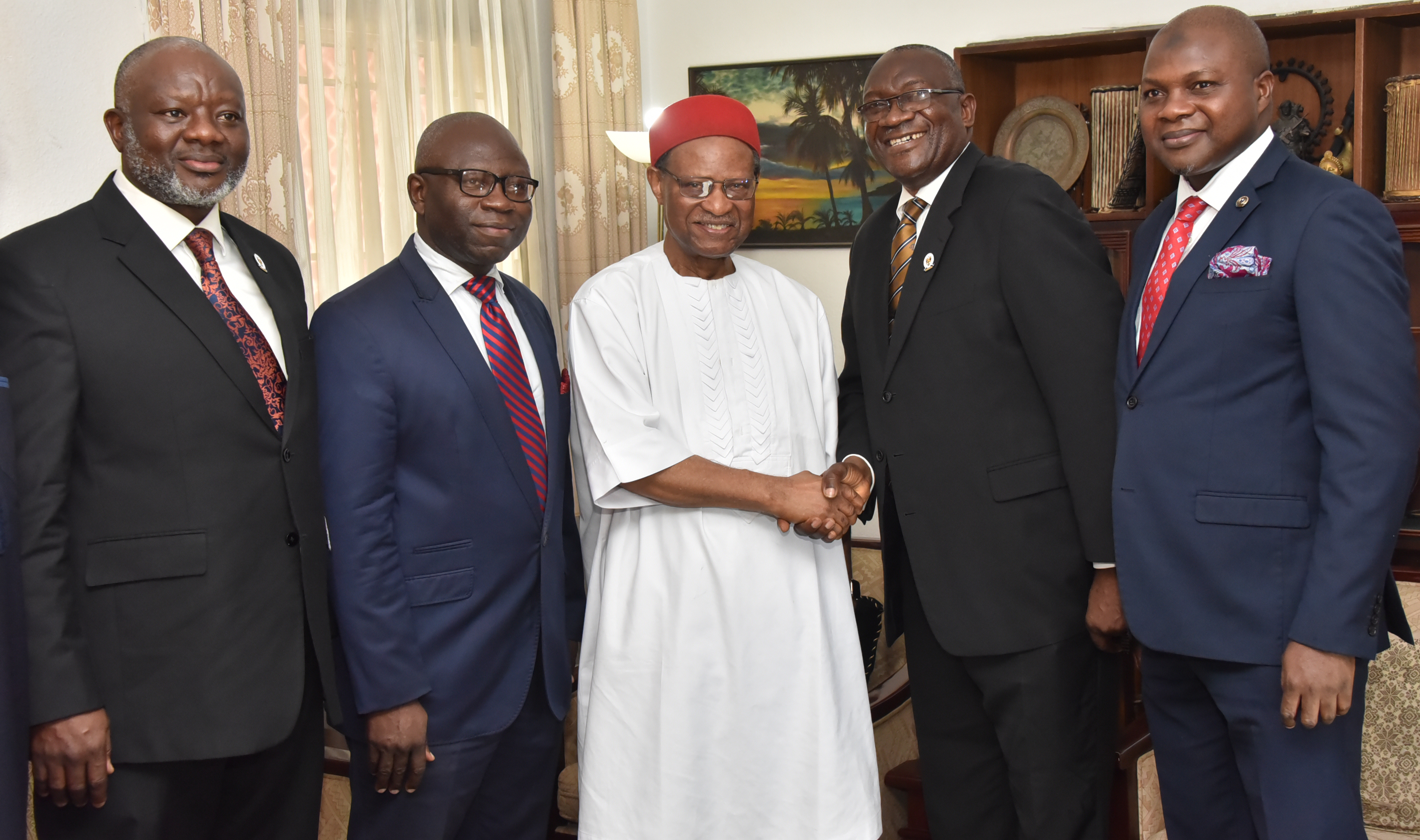 Anyaoku Graces Peterside's Investiture As CIS' Fellow