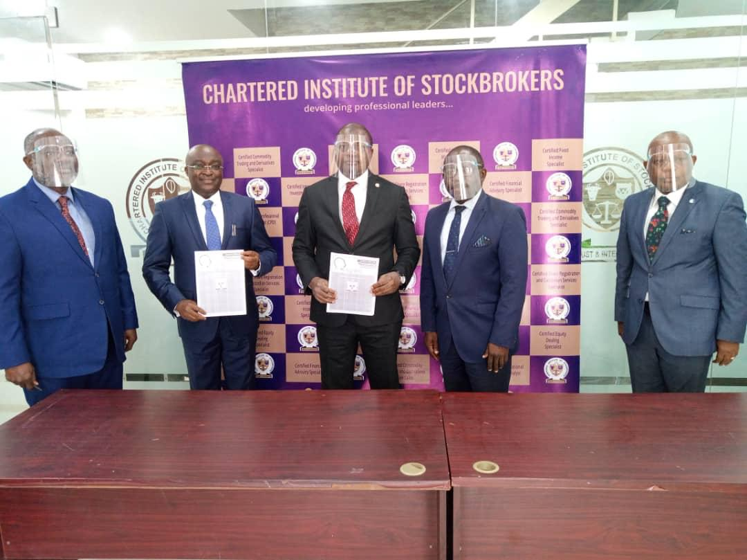 Stockbrokers' Institute, IT Firm Sign MoU