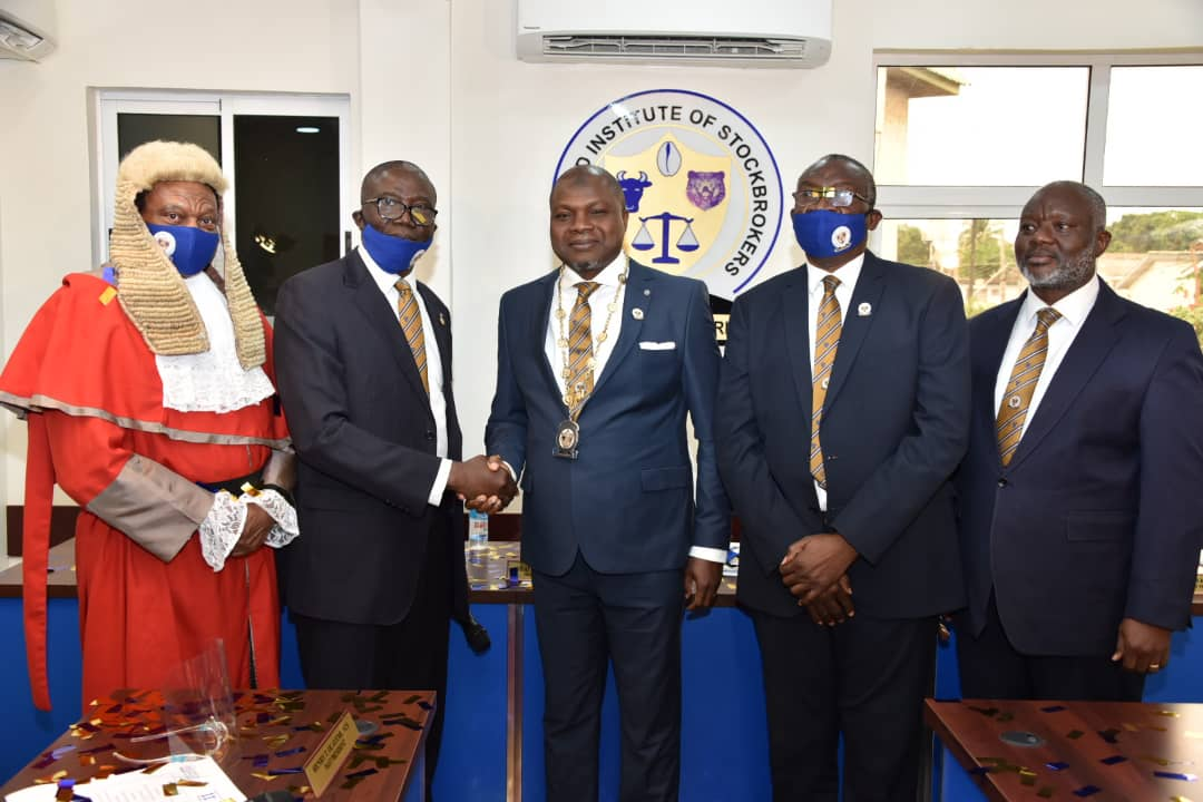 Olateru–Olagbegi Swears-In Stockbrokers' President Amid Accolades