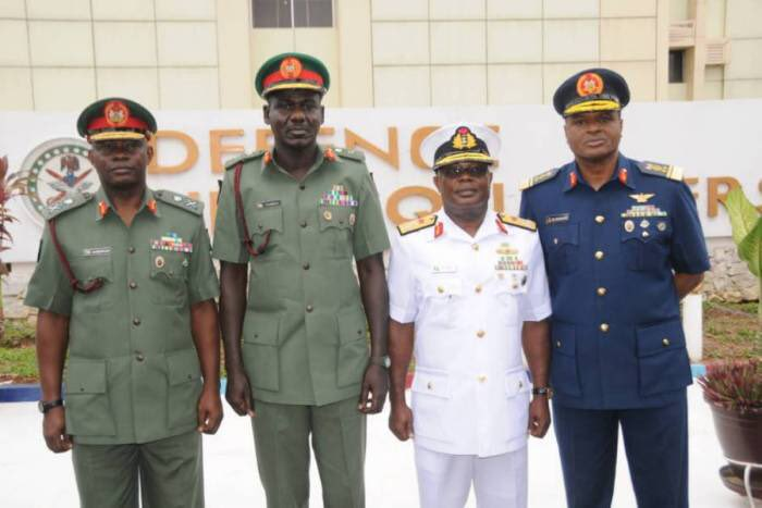 BREAKING NEWS: Buhari appoints new Service Chiefs