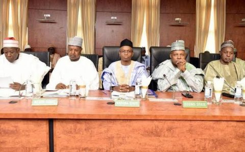 Northern governors to work with FG, fight insecurity