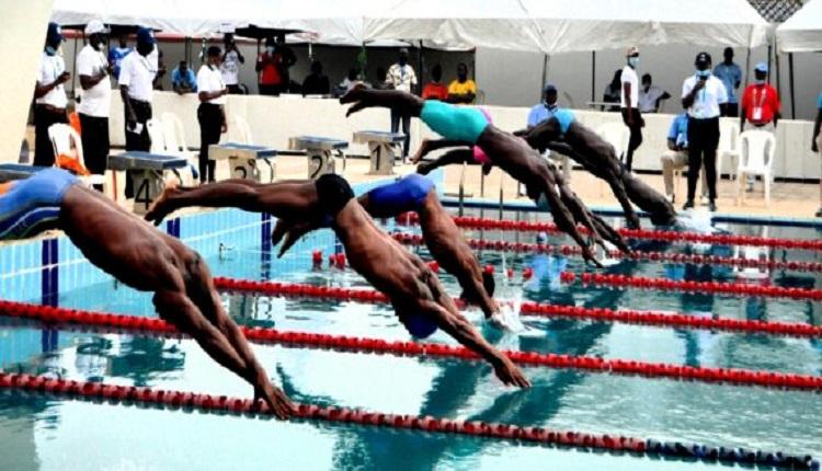 Three States break swimming records