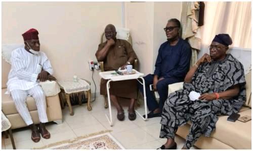 Obasanjo mourns Odumakin, visits Afenifere leader, Adebanjo